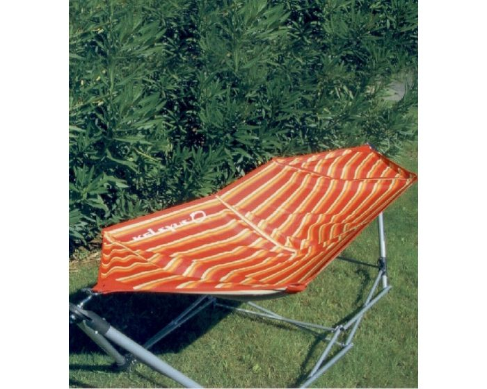 Portable hammock stripes
